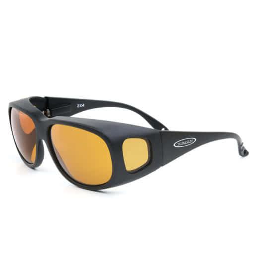 Vision 2X4 Überbrille gelbe Tönung